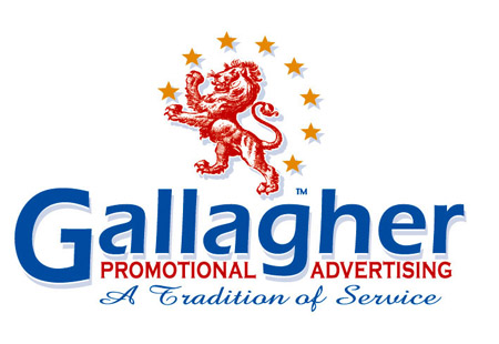 Gallagher Advertising Logo Option 1 by Greg Dampier - Illustrator & Graphic Artist of Lake Wales, Florida