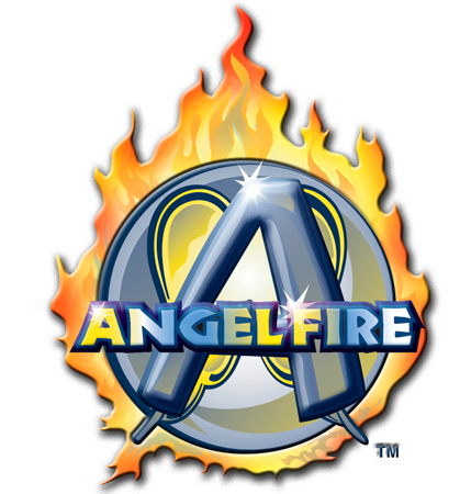 Angel Fire - Logo - Color by Greg Dampier - Illustrator & Graphic Artist of Lake Wales, Florida