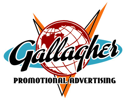 Gallagher Advertising Logo Option 2 by Greg Dampier - Illustrator & Graphic Artist of Lake Wales, Florida