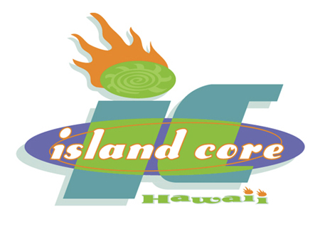 Island Core Hawaii Logo by Greg Dampier - Illustrator & Graphic Artist of Lake Wales, Florida