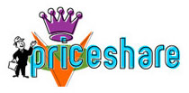 PriceShare.com Logo Option 1 by Greg Dampier - Illustrator & Graphic Artist of Lake Wales, Florida