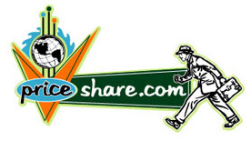 PriceShare.com Logo Option 4 by Greg Dampier - Illustrator & Graphic Artist of Lake Wales, Florida
