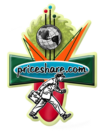 PriceShare.com Logo Option 5 by Greg Dampier - Illustrator & Graphic Artist of Lake Wales, Florida