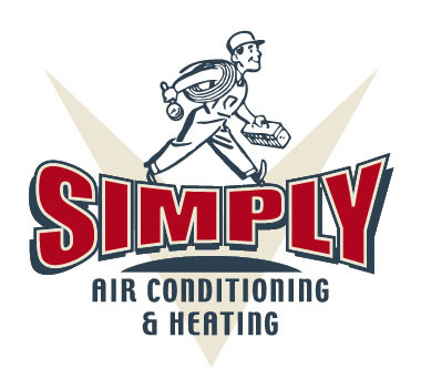 Simply Air Conditioning Logo Option 3 by Greg Dampier - Illustrator & Graphic Artist of Portland, Oregon