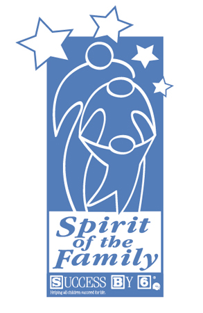 Spirit of the Family Logo - Success by 6 by Greg Dampier - Illustrator & Graphic Artist of Lake Wales, Florida