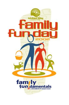Family Fun Day Logo - Success by 6 by Greg Dampier - Illustrator & Graphic Artist of Portland, Oregon