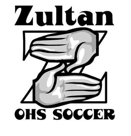 Zultan OHS Soccer Logo by Greg Dampier - Illustrator & Graphic Artist of Lake Wales, Florida