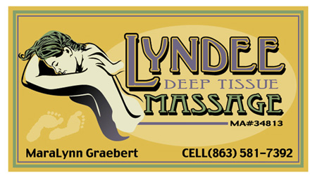 Lyndee Massage Card 2 by Greg Dampier - Illustrator & Graphic Artist of Lake Wales, Florida