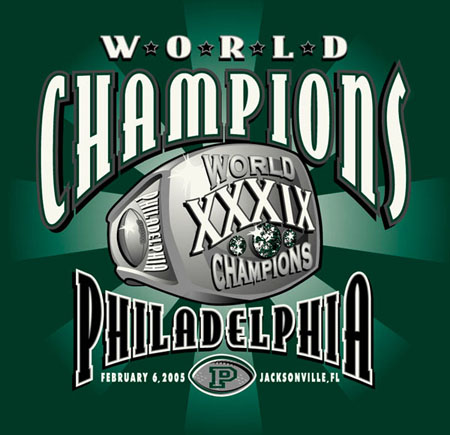 Philly - World Champs1 by Greg Dampier - Illustrator & Graphic Artist of Portland, Oregon
