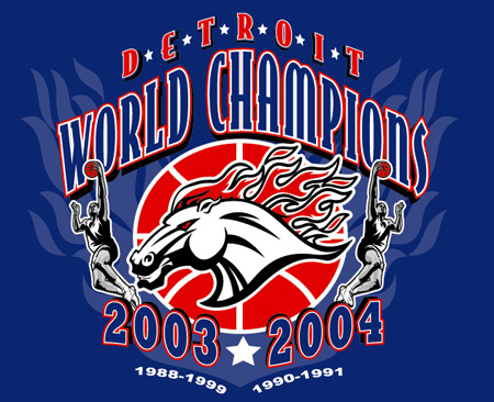 Detroit - World Champs 03 04 2 by Greg Dampier - Illustrator & Graphic Artist of Lake Wales, Florida