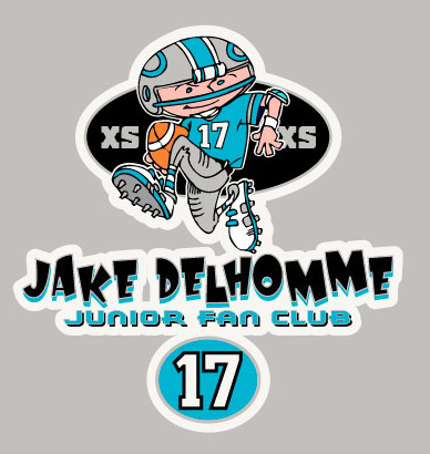 Carolina Panthers - Jake Delhomme by Greg Dampier - Illustrator & Graphic Artist of Portland, Oregon