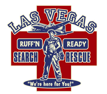 Las Vegas - Rescue by Greg Dampier - Illustrator & Graphic Artist of Portland, Oregon