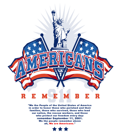 Americans Remember by Greg Dampier - Illustrator & Graphic Artist of Lake Wales, Florida