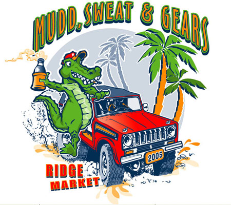 Mudd Sweat and Gears by Greg Dampier - Illustrator & Graphic Artist of Portland, Oregon