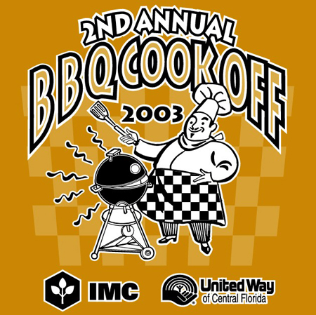 IMC - BBQ Cookoff 03 by Greg Dampier - Illustrator & Graphic Artist of Portland, Oregon