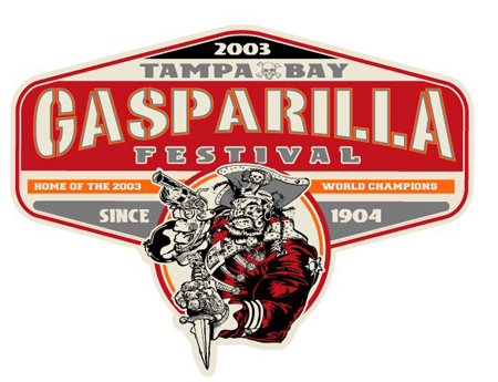 Tampa Bay - Gasparilla Fest 03 by Greg Dampier - Illustrator & Graphic Artist of Lake Wales, Florida