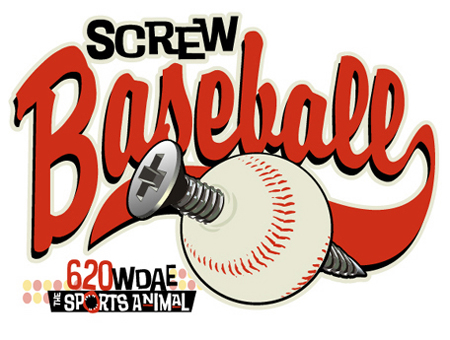 Screw Baseball Spec by Greg Dampier - Illustrator & Graphic Artist of Lake Wales, Florida