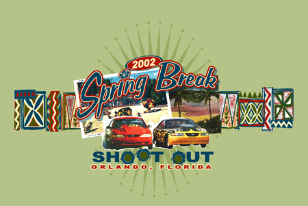 Spring Break Shoot Out 02 1 by Greg Dampier - Illustrator & Graphic Artist of Lake Wales, Florida