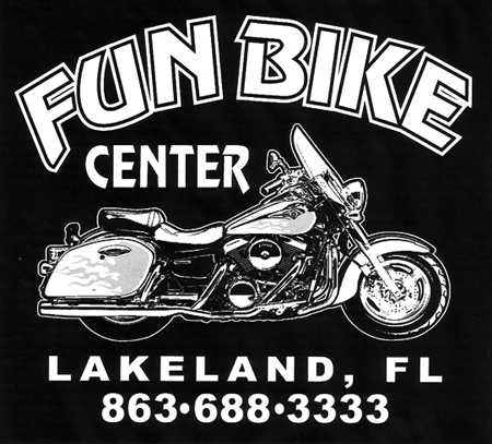 Fun Bike Center - Back by Greg Dampier - Illustrator & Graphic Artist of Portland, Oregon