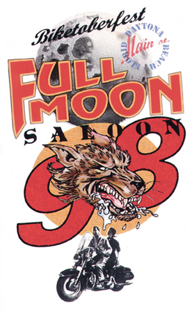 Full Moon Saloon - 98 by Greg Dampier - Illustrator & Graphic Artist of Lake Wales, Florida