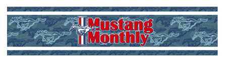 Mustang Monthly Strip by Greg Dampier - Illustrator & Graphic Artist of Portland, Oregon