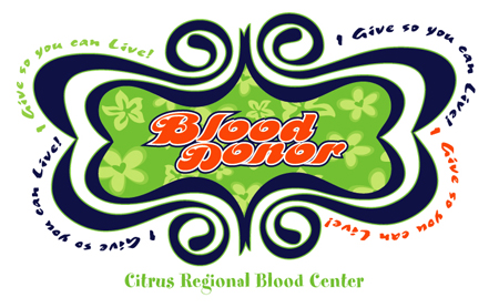 blood donor 70s by Greg Dampier - Illustrator & Graphic Artist of Lake Wales, Florida