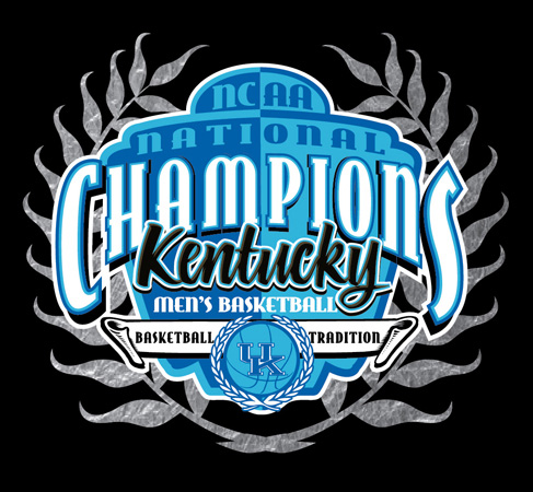 National Champ kentucky silver by Greg Dampier - Illustrator & Graphic Artist of Lake Wales, Florida