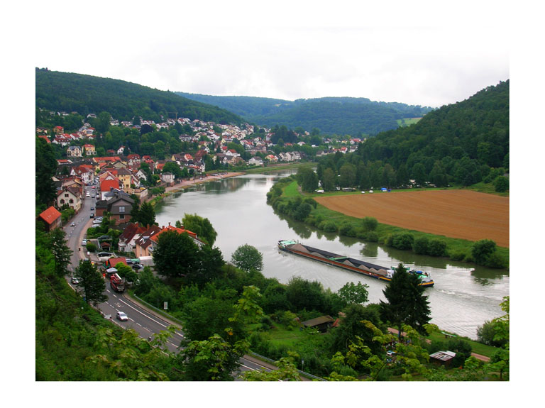 overlooking the mosel river in heidelberg germany photo by greg dampier by Greg Dampier - Illustrator & Graphic Artist of Portland, Oregon