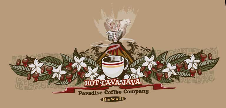 Hot Lava Java by Greg Dampier - Illustrator & Graphic Artist of Portland, Oregon