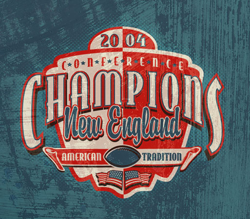 new england champs by Greg Dampier - Illustrator & Graphic Artist of Portland, Oregon