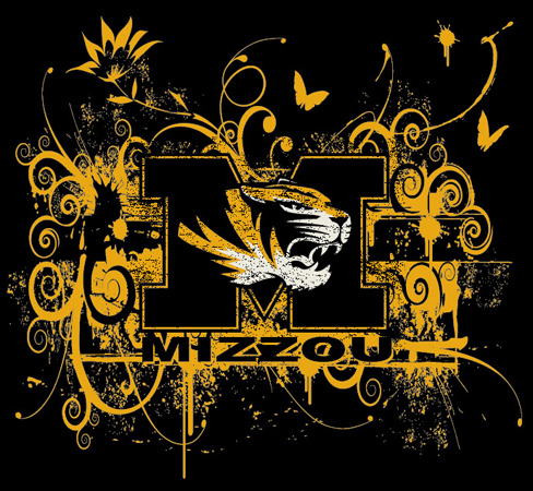 Mizzou by Greg Dampier - Illustrator & Graphic Artist of Portland, Oregon
