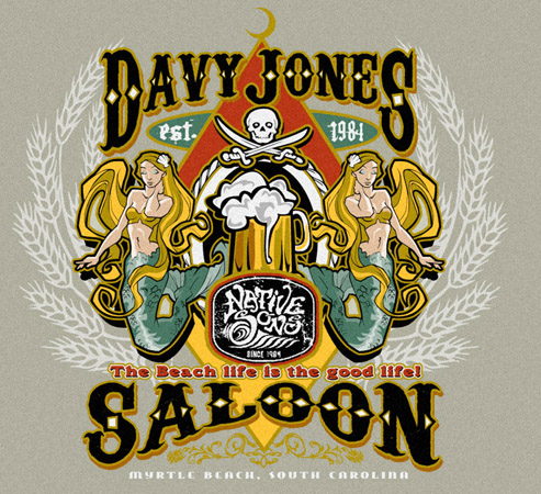 DAVYJONESNS by Greg Dampier - Illustrator & Graphic Artist of Portland, Oregon