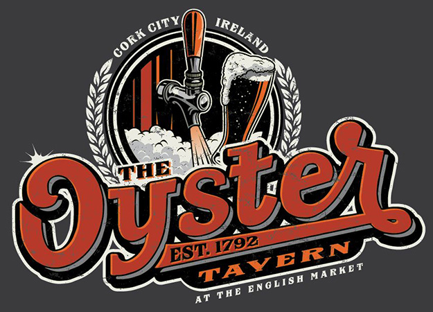 Oyster Tavern Tee by Greg Dampier - Illustrator & Graphic Artist of Portland, Oregon