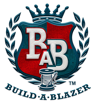 Build a Blazer Crest by Greg Dampier - Illustrator & Graphic Artist of Lake Wales, Florida