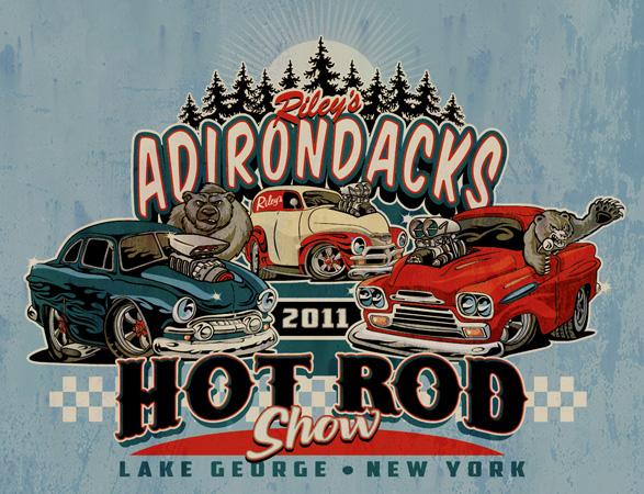 t shirts adirondacks hot rod show rileys by greg dampier