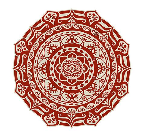 Mandala design 7 by Greg Dampier - Illustrator & Graphic Artist of Portland, Oregon