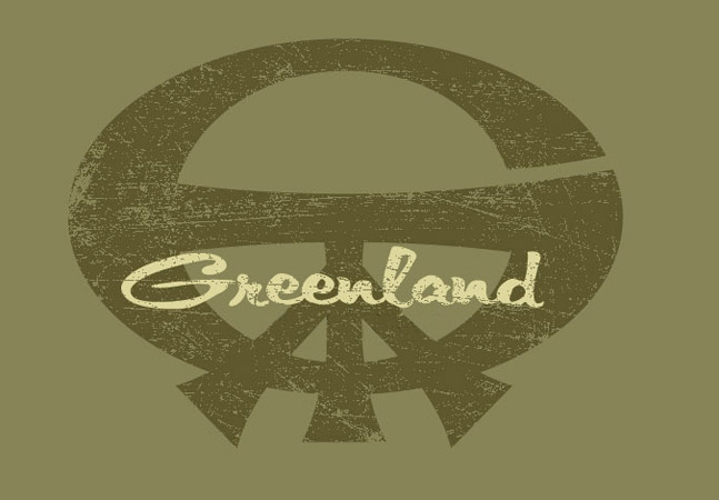 greenland logo by Greg Dampier - Illustrator & Graphic Artist of Portland, Oregon