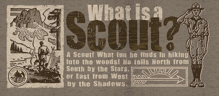 What is a Scout by Greg Dampier - Illustrator & Graphic Artist of Portland, Oregon