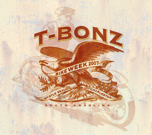 t bonz grill by Greg Dampier - Illustrator & Graphic Artist of Portland, Oregon
