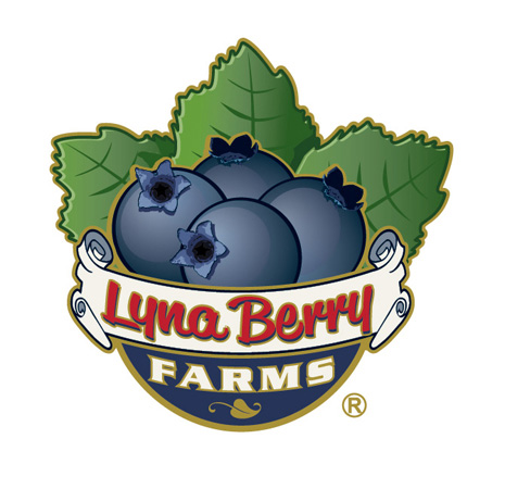 Lyna Berry farms logoa by Greg Dampier - Illustrator & Graphic Artist of Lake Wales, Florida