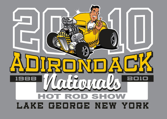 Adirondack nationals by Greg Dampier - Illustrator & Graphic Artist of Portland, Oregon