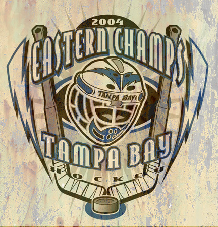 tampa bay champs by Greg Dampier - Illustrator & Graphic Artist of Portland, Oregon