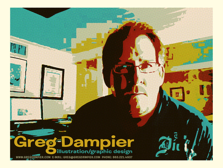 greg dampier promo abstract by Greg Dampier - Illustrator & Graphic Artist of Lake Wales, Florida