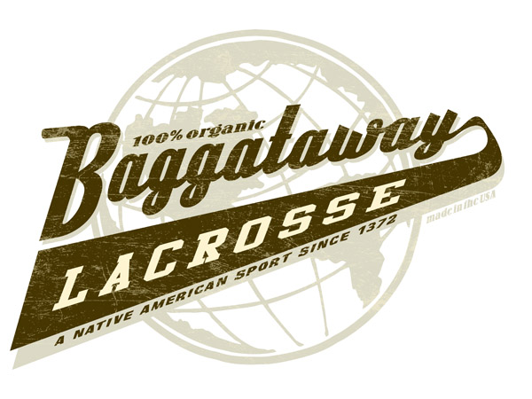 Baggataway lacrosse by Greg Dampier - Illustrator & Graphic Artist of Portland, Oregon