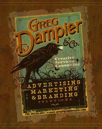 greg dampier and co by Greg Dampier - Illustrator & Graphic Artist of Lake Wales, Florida