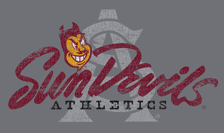SUNDEVILS AS by Greg Dampier - Illustrator & Graphic Artist of Portland, Oregon