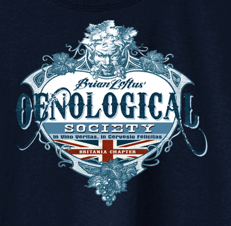 oenological society by Greg Dampier - Illustrator & Graphic Artist of Portland, Oregon