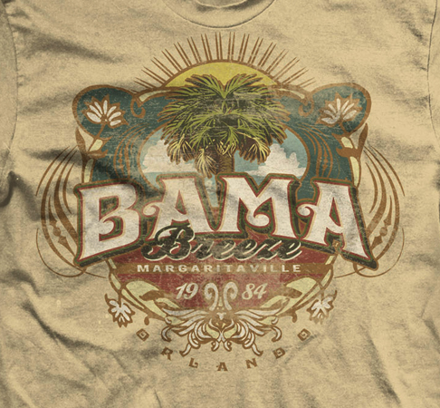 Bama Breeze by Greg Dampier - Illustrator & Graphic Artist of Portland, Oregon