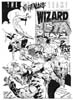 Comics • Black And White • Wizard Comics Cover Nightmare Team by Greg Dampier All Rights Reserved.