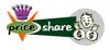 Logos • Pricesharecom Logo Option 3 by Greg Dampier All Rights Reserved.